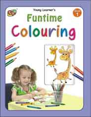 Fun Time Colouring Book # 1