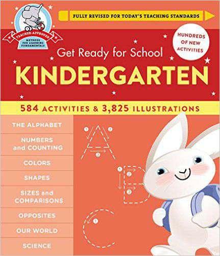Get Ready for School Kindergarten -