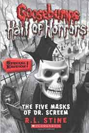 Goosebumps Hall of Horrors 3 The Five Masks of Dr Screem
