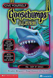 Goosebumps Ship of Ghouls Book