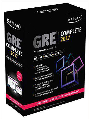 GRE Complete 2017 The Ultimate in Comprehensive SelfStudy for GRE -