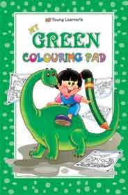 Green Colouring Pad