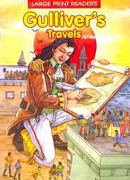 Gullivers Travels Large Print Readers -