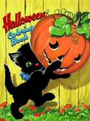Halloween Coloring Book Novelty Coloring Book Golden Books