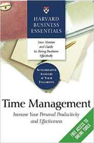 Harvard Business Essentials Time Management illustrated