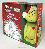 How the Grinch Stole Christmas! Book and Grinch (Classic Seuss)  -  Hardcover