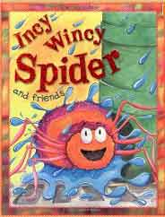 Incy Wincy Spider and Friends Nursery Library -