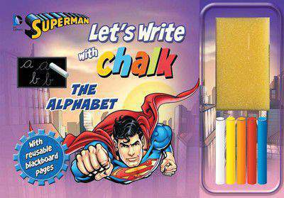 Lets Write With Chawk Superman The Alphabet  -
