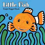 Lile Fish Finger Puppet Book          Board Book