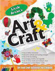 Little Artists Art & Craft Book 4