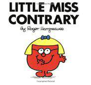 Little Miss Contrary Mr Men and Little Miss