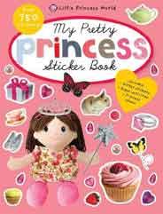 Little Princess World My Pretty Princess Sticker Book   -