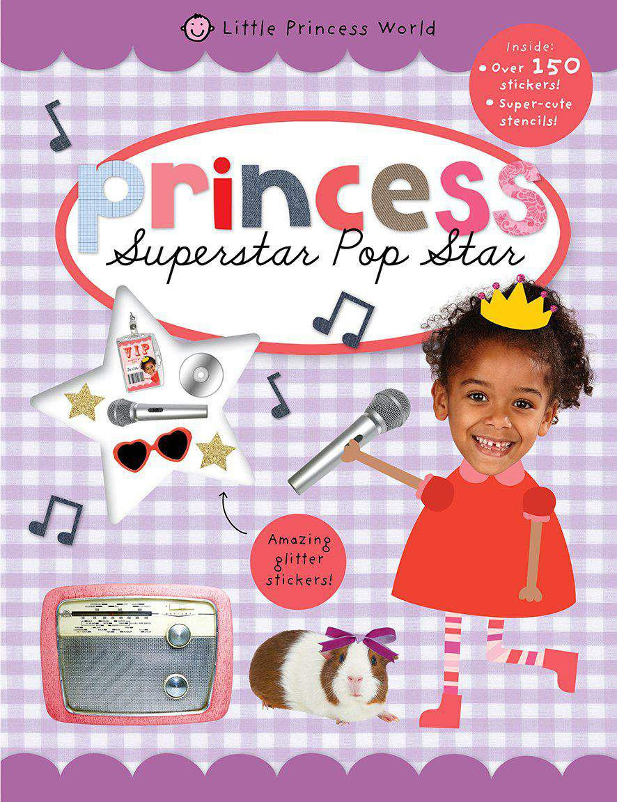 Little Princess World Sticker Activity
