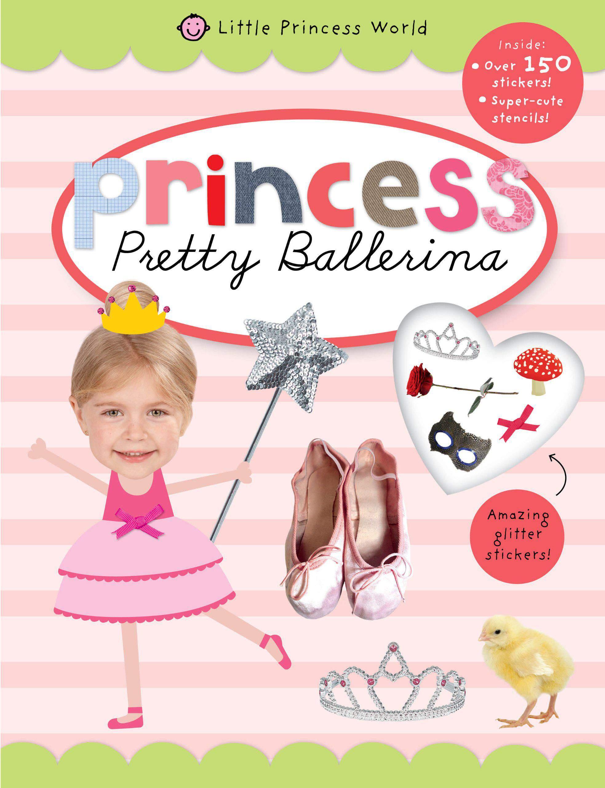 Little Princess World Sticker Activity -