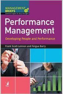 Management Briefs Performance Management