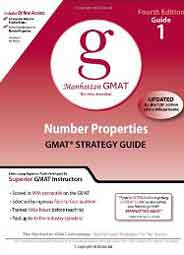 Manhattan GMAT Preparation Guide 1: Number Properties GMAT Strategy Guide 4th Edition