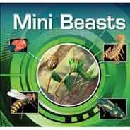 Mini Beasts Lenticular Books -