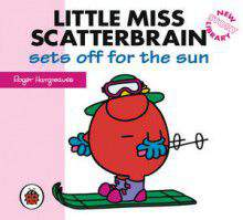 Mr Men Little Miss Little Miss Scatterbrain sets off for the sun