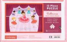 Mudpuppy Ballerinas Pouch Jigsaw Puzzle