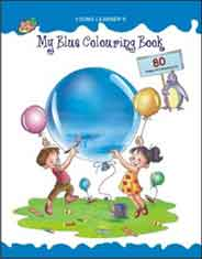 My Blue Colouring Book NEW