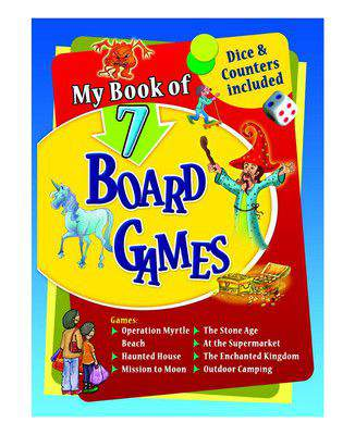 My Book of 7 Board Games