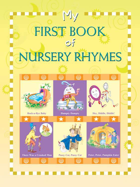 My First Book of Nursery Rhymes -