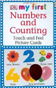 My First Touch and Feel Picture Cards Numbers and Counting Box
