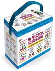 My Preschool Board Book Gift Pack Set of 6 Board Books NEW -