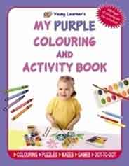 My Purple Colouring and Activity Book NEW