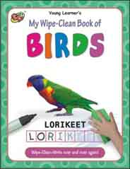 My Wipe Clean Book of Birds