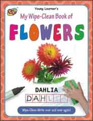 My Wipe Clean Book of Flowers