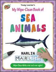 My Wipe Clean Book of Sea Animals