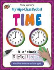 My Wipe Clean Book of Time
