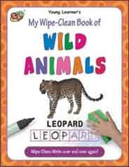 My Wipe Clean Book of Wild Animals