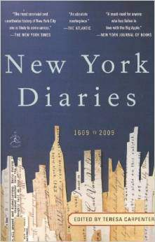 New York Diaries: 1609 to 2009 Modern Library -