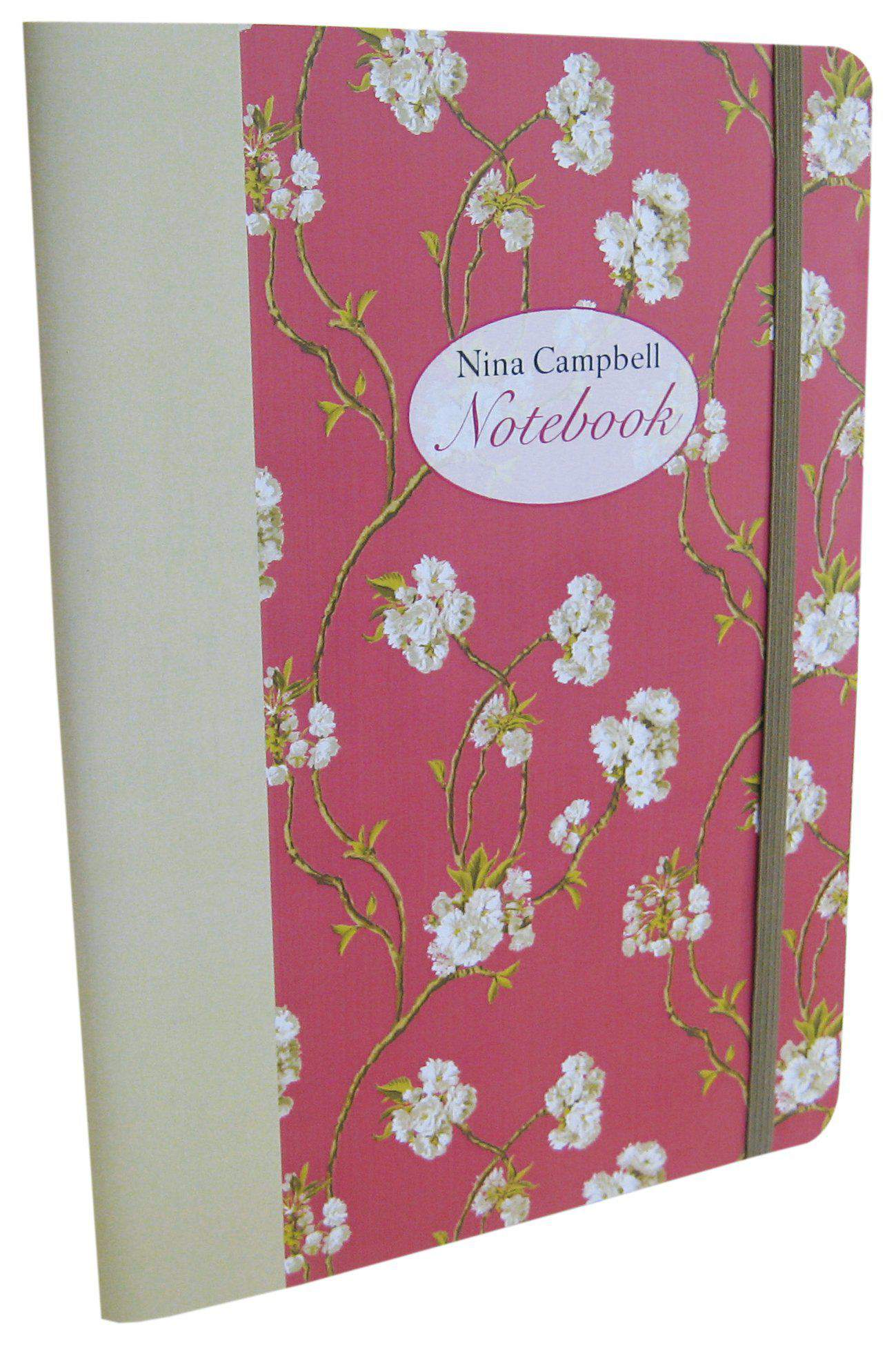 Nina Campbell Paperback Lined Journal