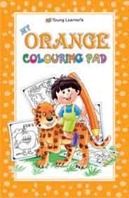 Orange Colouring Pad