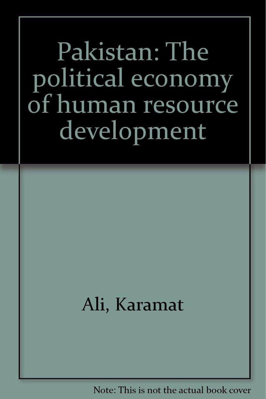 Pakistan: The political economy of human resource development