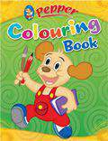 Pepper Colouring Book