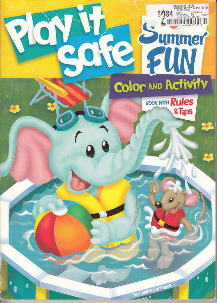 Play It Safe Coloring and Activity