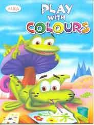 Play With ColoursFrogs