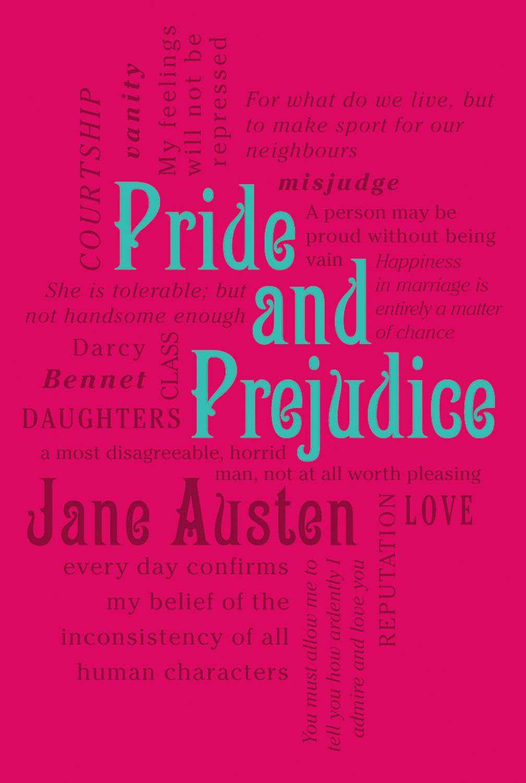 Pride and Prejudice Word Cloud Classics