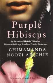 Purple Hibiscus -