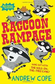 Raccoon Rampage Awesome Animals