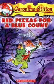 Red Pizzas for a Blue Count Geronimo Stilton 7 Mass Market
