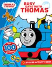 Rhyme Time With Thomas Sticker Activity Book