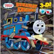 Runaway Engine! Thomas & Friends 3D Picture back -