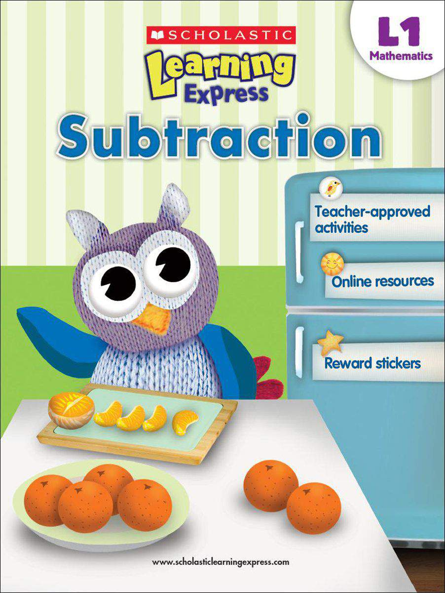 Scholastic Learning Express Level 1 Subtraction -