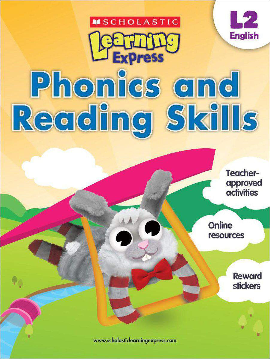 Scholastic Learning Express Level 2 Phonics and Reading Skills -