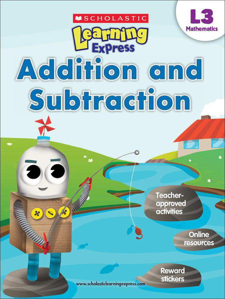 Scholastic Learning Express Level 3 Addition and Subtraction